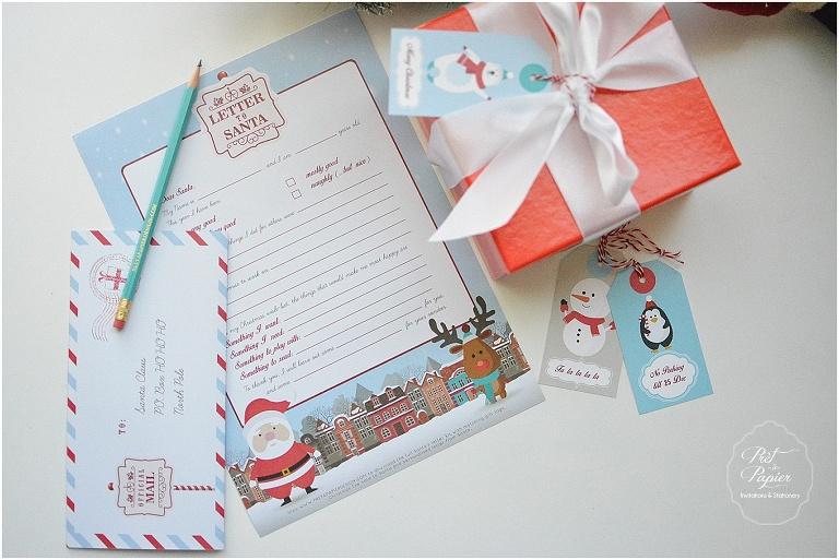 Letter to santa printable kit pret a papier design download letter to santa kit spiritdancerdesigns Gallery
