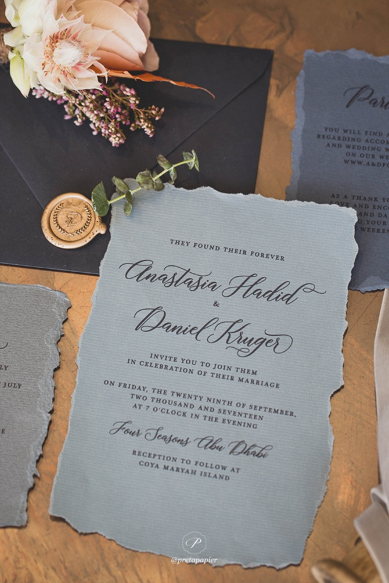top wedding stationery trends for 2018 in the press pret a